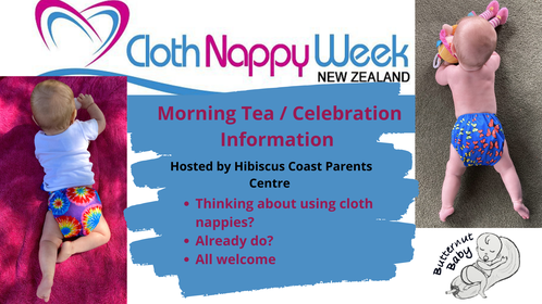Cloth nappy week events